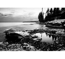 Thirty Seconds of Calm, Lake Superior Photographic Print