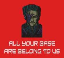 AYBABTU ~ All Your Base Are Belong To Us ~ t shirt Kids Clothes