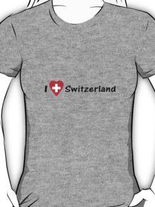 Ich Liebe Die Schweiz - I love Switzerland - Hopp Schwiiz - T-Shirt & Top T-Shirt