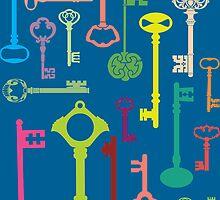 Keys by HalamoDesigns