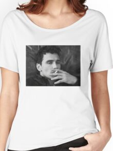 James Franco - Smoke  Women's Relaxed Fit T-Shirt