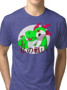 Fight me! Tri-blend T-Shirt