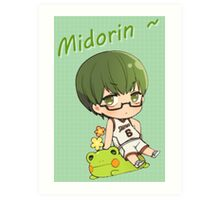 Chibi Midorin ~ Art Print
