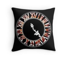 Final Fantasy - Final Hours (red) Throw Pillow