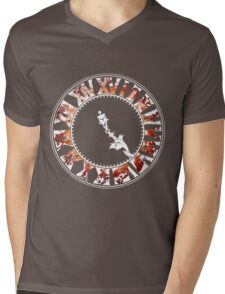 Final Fantasy - Final Hours (red) Mens V-Neck T-Shirt