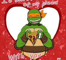TMNT Mikey V-day by AdrianaC