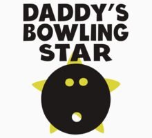 Daddy's Bowling Star One Piece - Short Sleeve