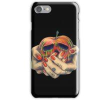 Poison Apple Tattooed Hands Black iPhone Case/Skin