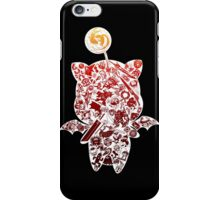 Final Fantasy Moogle-verse (red) iPhone Case/Skin