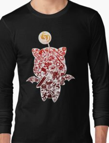 Final Fantasy Moogle-verse (red) Long Sleeve T-Shirt