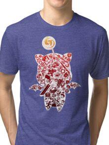 Final Fantasy Moogle-verse (red) Tri-blend T-Shirt