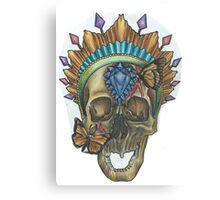 Gem Skull Canvas Print