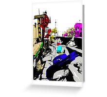 4TH AVENUE 64 QUAKE POP ART Greeting Card