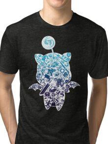 Final Fantasy Moogle-verse (blue) Tri-blend T-Shirt