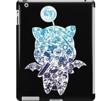 Final Fantasy Moogle-verse (blue) iPad Case/Skin