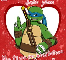 TMNT Leo V-day by AdrianaC