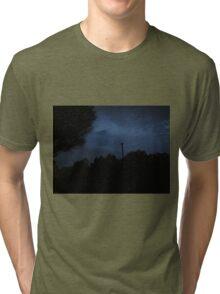 night clouds Tri-blend T-Shirt