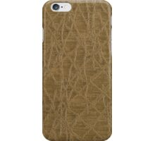 Golden vinyl texture iPhone Case/Skin