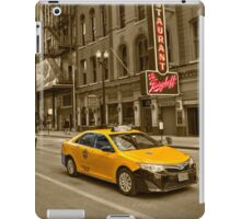 Chicago Taxi  iPad Case/Skin