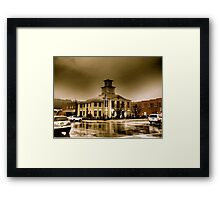 Classic Courthouse, Burnsville, NC Framed Print
