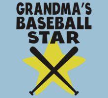 Grandma's Baseball Star Kids Tee