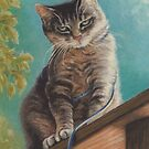 A Good Cat by Pam Humbargar