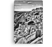 Oia village, Santorini, Greece Canvas Print