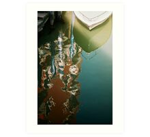 Canal Reflections Art Print