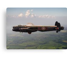 Dambusters Lancaster AJ-G carrying Upkeep Canvas Print