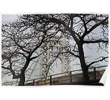 George Washington Bridge, 2014 Poster