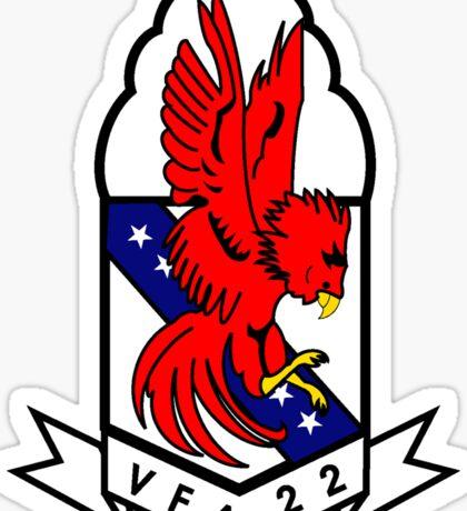 VFA-22 Fighting Redcocks Sticker