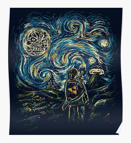 Hylian Night Poster