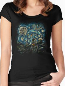 Hylian Night Women's Fitted Scoop T-Shirt