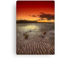 Mooring Buoy Sunset Canvas Print