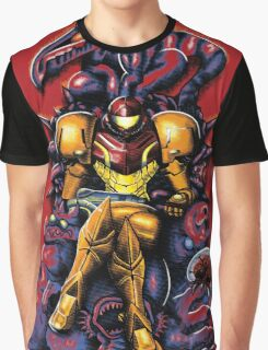 Metroid - The Huntress' Throne Graphic T-Shirt