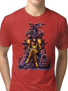 Metroid - The Huntress' Throne Tri-blend T-Shirt