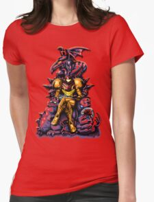 Metroid - The Huntress' Throne Womens Fitted T-Shirt