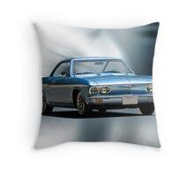 1965 Chevrolet Corvair I Throw Pillow