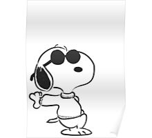 snoopy - just chillin Poster