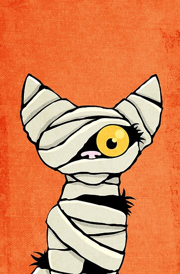 Mummy Cat by Lisa Marie Robinson