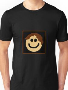 Smiley Face with Great Hair! Unisex T-Shirt