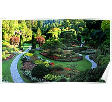 Butchart Gardens 1 Poster