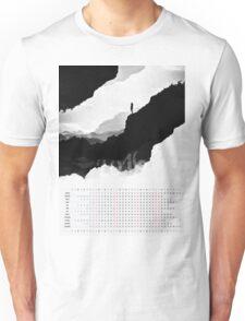 2016 Calendar White Isolation  Unisex T-Shirt