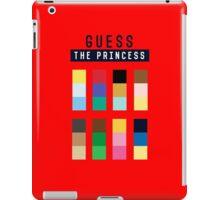 Guess the princess disney iPad Case/Skin
