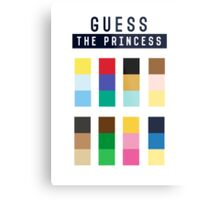 Guess the princess disney Metal Print