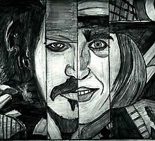 Johnny Depp  by Usama Javed