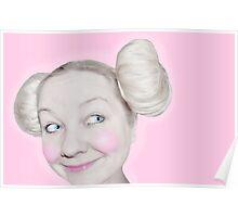 Leia Mouse Poster