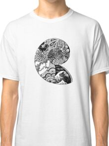 Shell Texture Drawing Classic T-Shirt