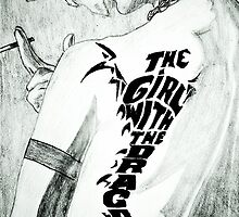 The girl with the dragon tattoo by Usama Javed