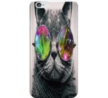 Cool Space Kat iPhone Case/Skin